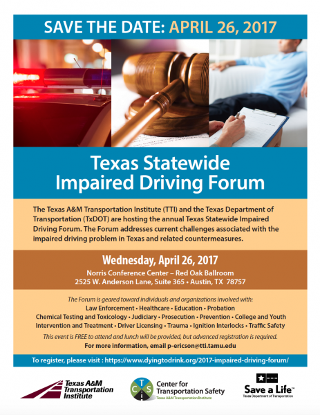 2017 Texas Statewide Impaired Driving Forum